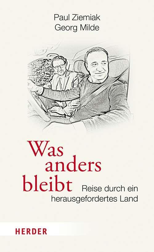 """Cover des Buchs """"Was anders bleibt"""" von Paul Ziemiak und Georg Milde"""